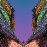 Rainbow Sisters Reflection. Nature'e Energy Reflections series by Debra Cortese