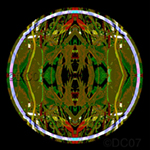 Heliconia Mandala. Nature'e Energy Reflections series by Debra Cortese
