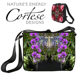 Natures Energy Cortese Design Totes, Laptop Bags, Beach Totes, Backpacks