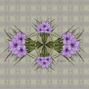 Ruella Bouquet digital art by Debra Cortese