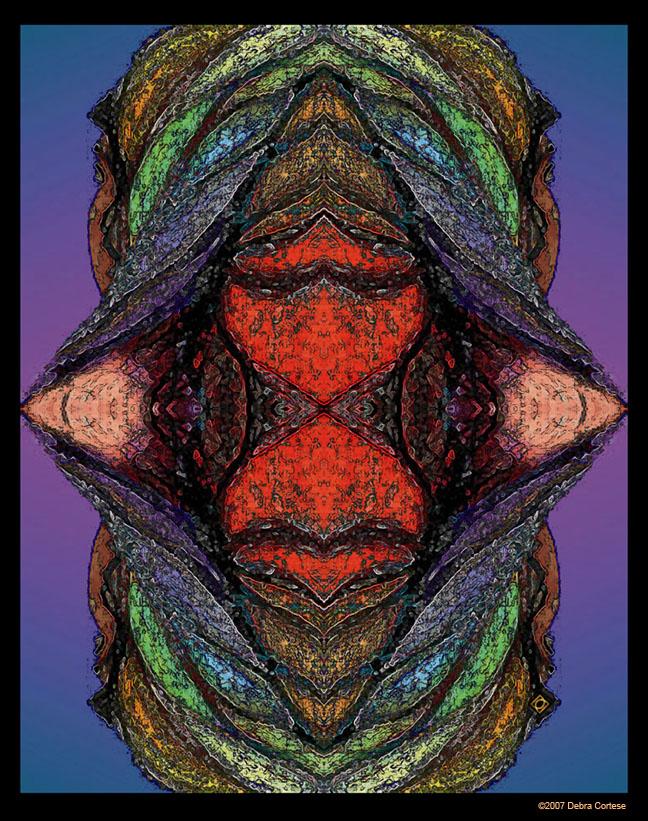 Rainbow Women World Peace Energy by Debra Cortese