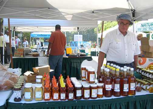 GreenMarket Honey photo: Debra Cortese