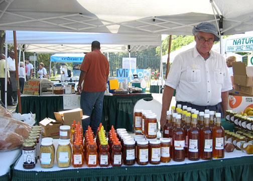 GreenMarket Honey photo: Debra Cortese
