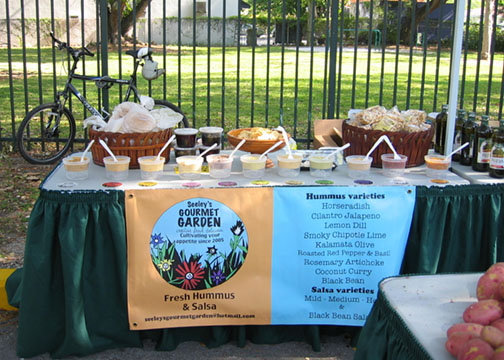 Green Market Gourmet Garden photo: Debra Cortese