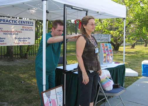 GreenMarket chiropractic photo: Debra Cortese