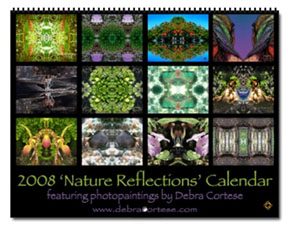 Nature's Reflections 2008 Calendar by Debra Cortese