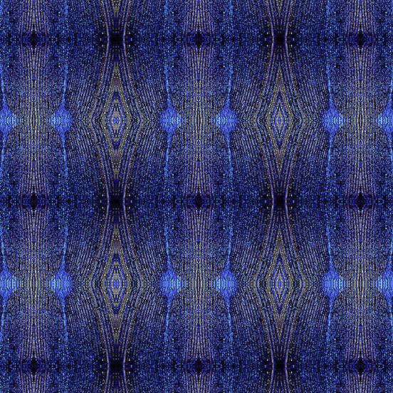 Peacock Diamond Feather pattern detail - Debra Cortese Designs
