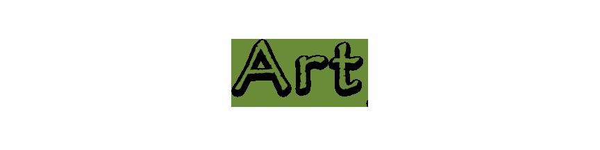graphic of ART type - Debra Cortese Designs