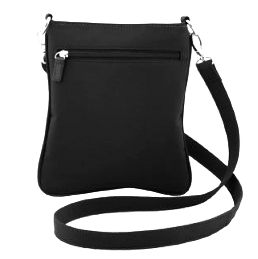 click for larger back view of crossbody bag
