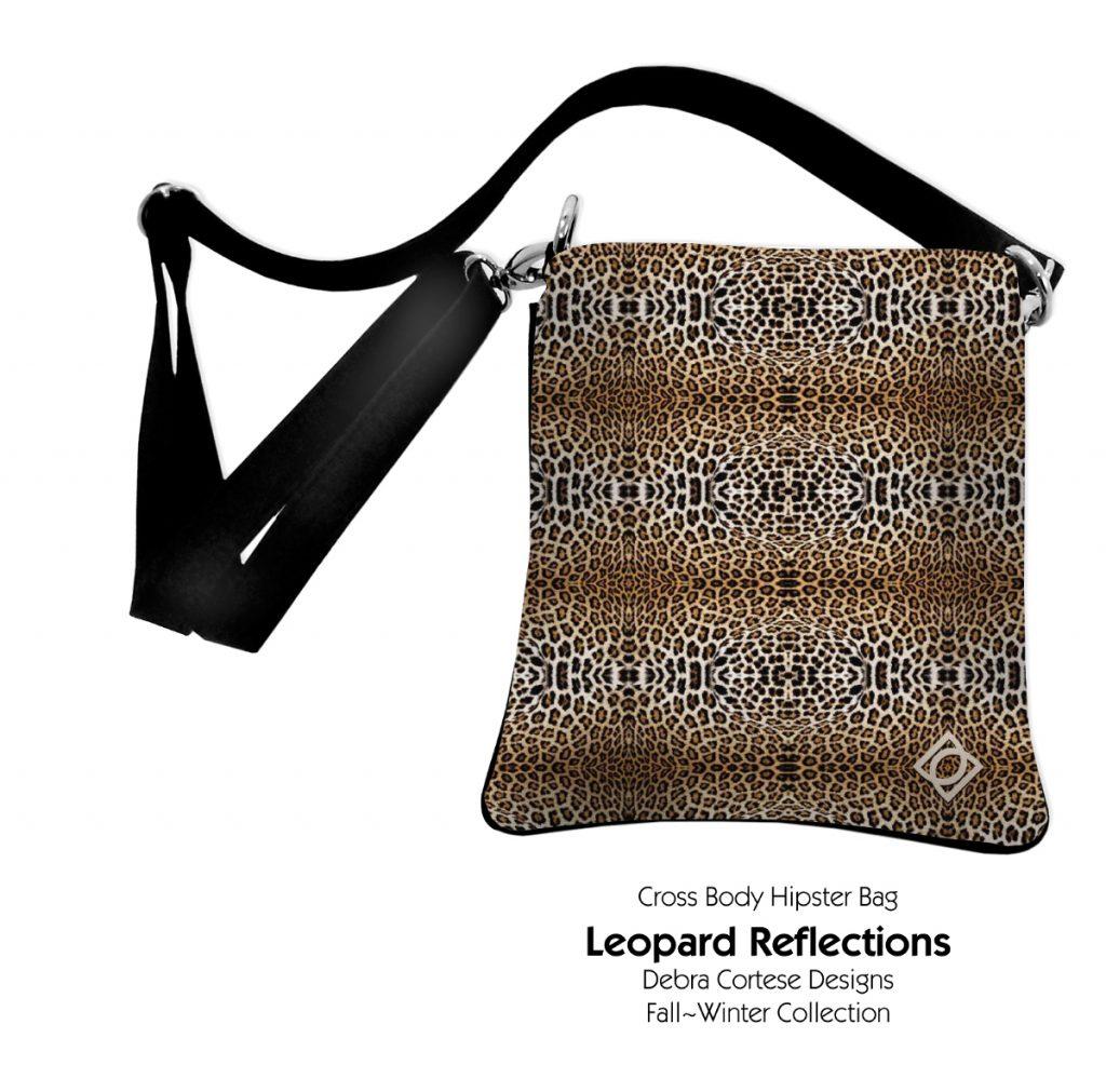 Leopard Print Crossbody Bag by Debra Cortese Designs