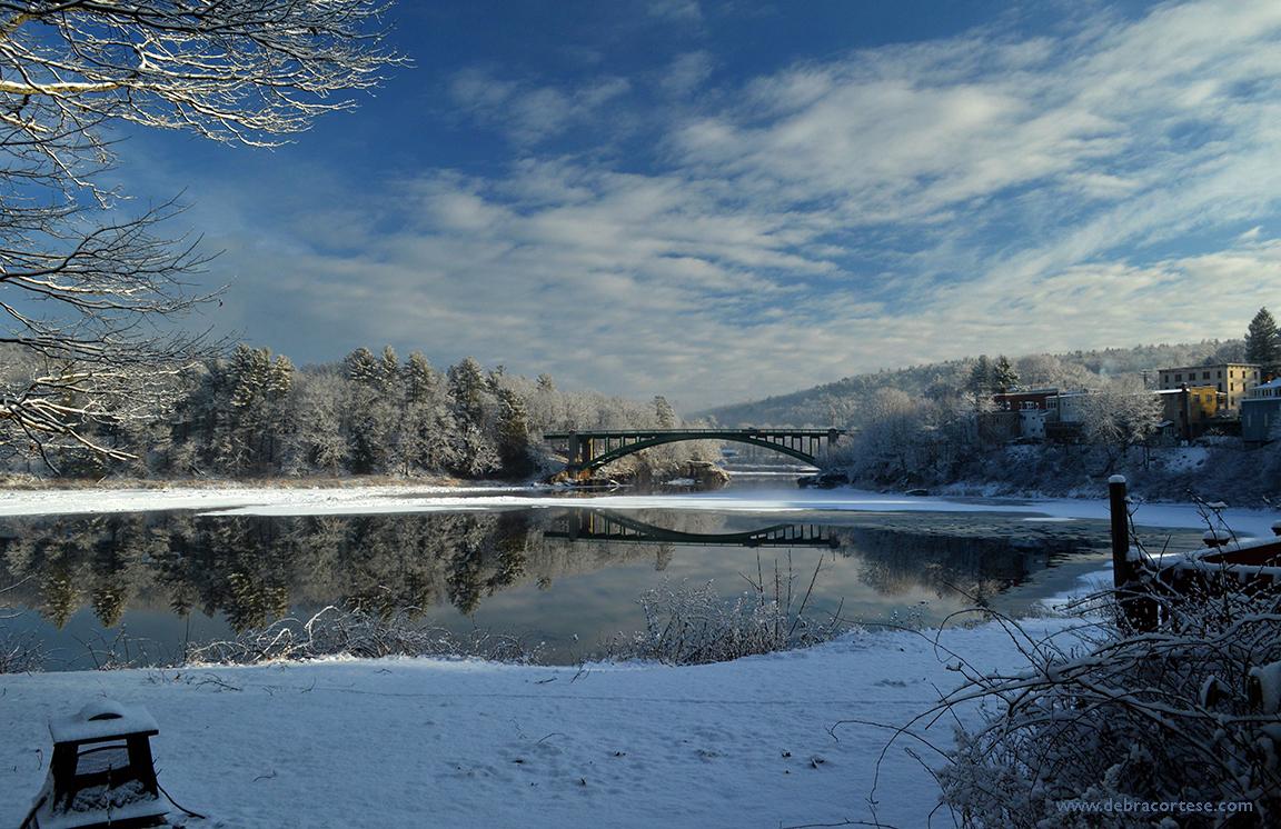 River View - Finally Looks Like Winter! Debra Cortese photo